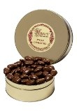 MAMMOTH MILK CHOCOLATE COATED PECAN HALVES 2LB GIFT TIN